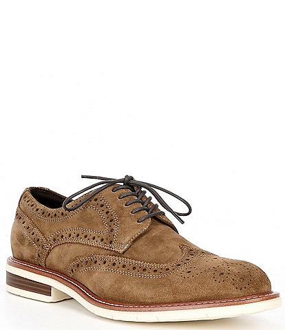 Kenneth Cole New York Men's Kieran Suede Flex Lace-Up Oxfords