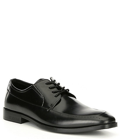 Kenneth Cole New York Men's Leather Ticket Lace Up