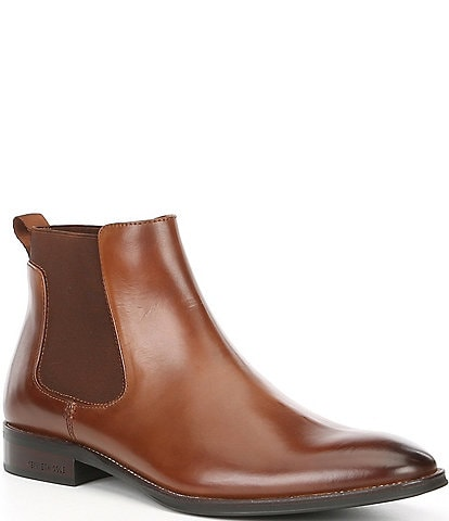 Kenneth Cole New York Men's Leather Tully Chelsea Boot