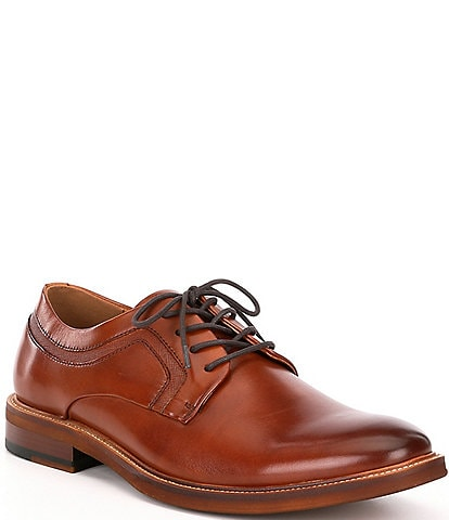 Kenneth Cole New York Men's Prewitt Leather Lace Up Plain Toe Oxfords
