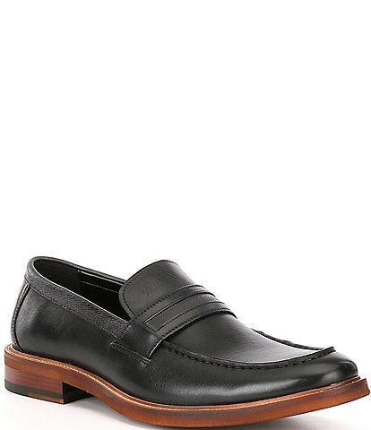 Kenneth Cole New York Men's Prewitt Leather Penny Loafers