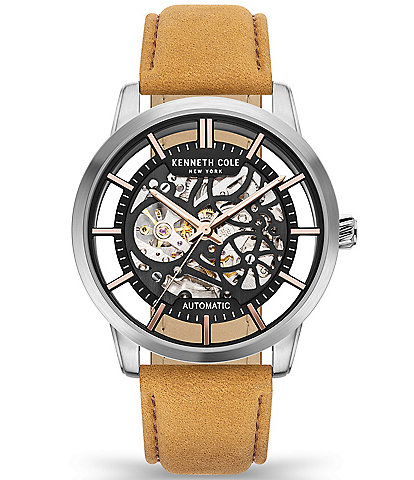 Kenneth Cole New York Men's Skeleton Automatic Watch