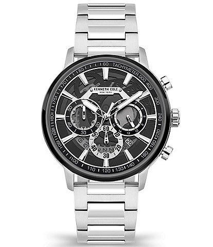 Kenneth Cole New York Men's Stainless Steel Chronograph Watch