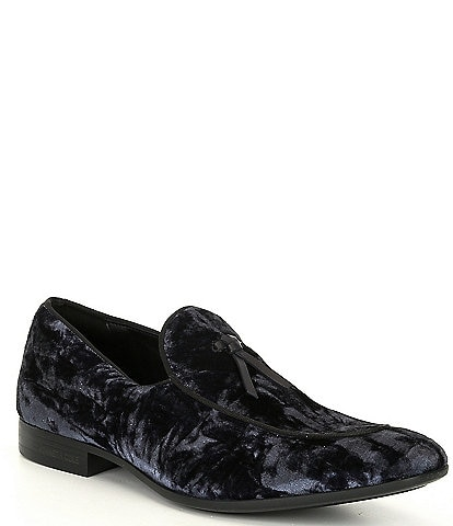 Kenneth Cole New York Men's Sullivan Velvet Belgian Loafers