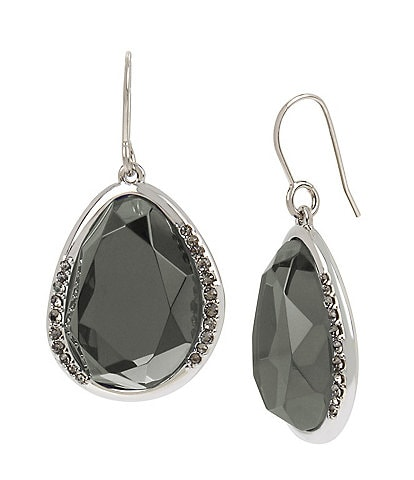 Kenneth Cole New York Pave Drop Earrings