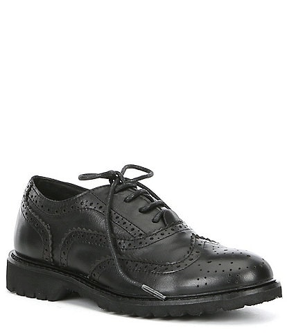 Kenneth Cole New York Wing Brogue Leather Oxford
