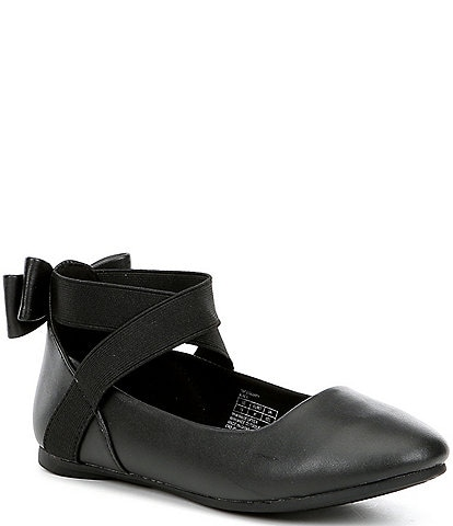Kenneth Cole Reaction Girls' Tap Strappy Ballet Flats