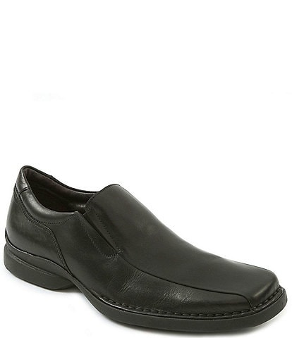 Kenneth Cole Reaction Men's Punchual Leather Bike Toe Loafers