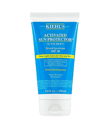 Kiehl's Since 1851 Activated Sun Protector Water-Light Lotion for Face & Body SPF 50