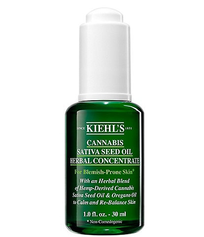 Kiehl's Since 1851 Cannabis Sativa Seed Oil Herbal Concentrate Hemp-Derived