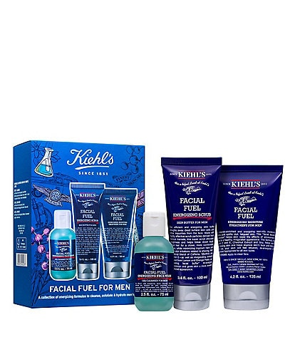 Kiehl's Since 1851 Facial Fuel For Men Skincare Set