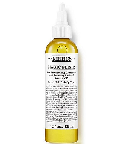 Kiehl's Since 1851 Magic Elixir Hair Restructuring Concentrate with Rosemary Leaf and Avocado