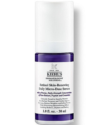 Kiehl's Since 1851 Micro-Dose Anti-Aging Retinol Serum with Ceramides and Peptide
