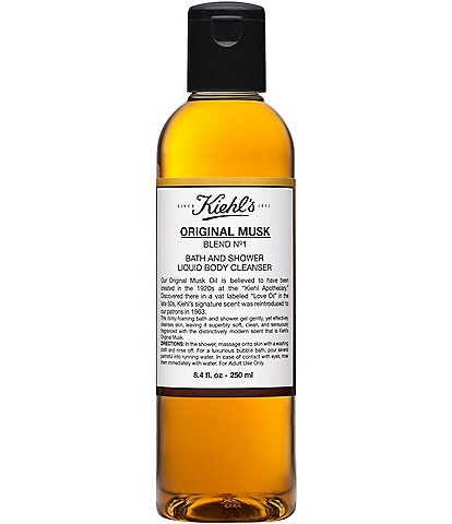 Kiehl's Since 1851 Original Musk Bath and Shower Liquid Body Cleanser