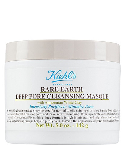 Kiehl's Since 1851 Rare Earth Pore Cleansing Treatment Masque