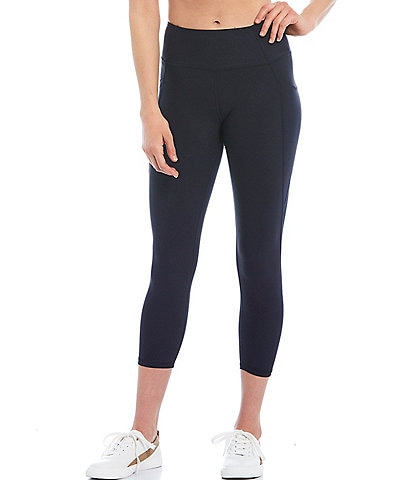 Kinesis Mid Rise Moisture Wicking Crop Leggings