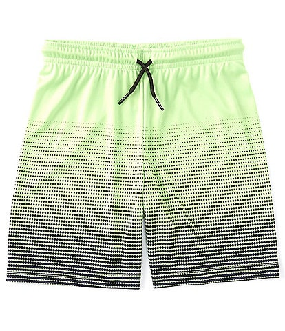 Kinetic by Class Club Little Boys 2T-7 Pull-On Gradient Performance Shorts