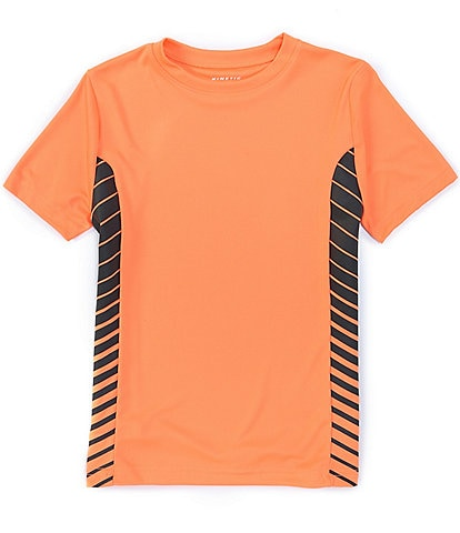 Kinetic by Class Club Little Boys 2T-7 Short-Sleeve Side Panel Performance Tee