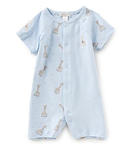 cdb8829d2b Kissy Kissy Baby Boys Newborn-18 Months Sophie La Girafe Printed Shortall