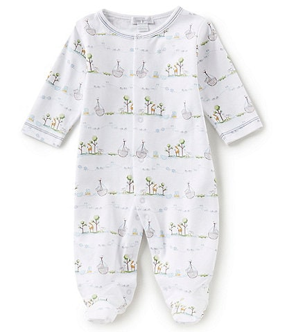 ead8660a7666 Kissy Kissy Baby Preemie-9 Months Noahs Printed Footed Coverall