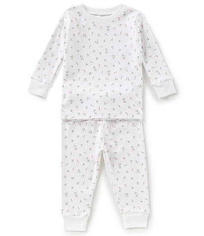 Kissy Kissy Baby Girls 12-24 Months Garden Roses Top & Pants Pajama Set