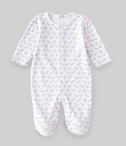 Kissy Kissy Baby Girls Newborn-9 Months Elephant Footed Coverall