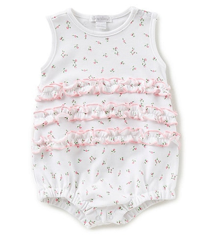 Kissy Kissy Baby Girls Newborn-9 Months Garden Print Bubble Shortall