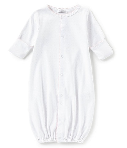 Kissy Kissy Baby Girls Newborn Dot Print Gown