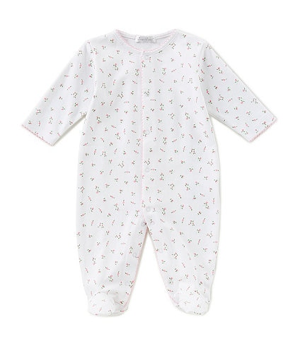 Kissy Kissy Baby Girls Preemie-9 Months Garden Roses Footed Coverall