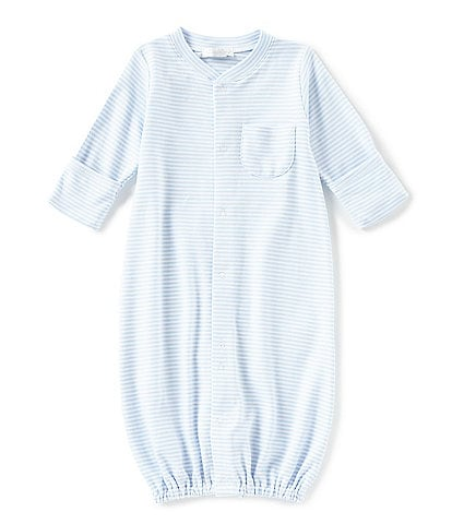 Kissy Kissy Baby Preemie-Newborn Simple Stripes Nightgown