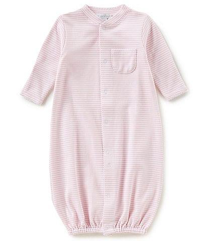 Kissy Kissy Baby Preemie-Newborn Simple Stripes Nightgown
