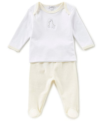 Kissy Kissy Baby Newborn-9 Months Giraffe Generations Top & Pants Set