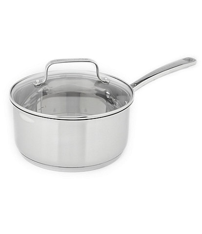 KitchenAid Stainless Steel Saucepan with Glass Lid