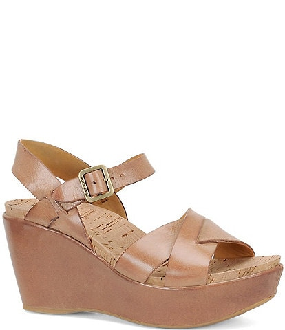 Kork-Ease Ava 2.0 Ankle-Strap Wedge Sandals