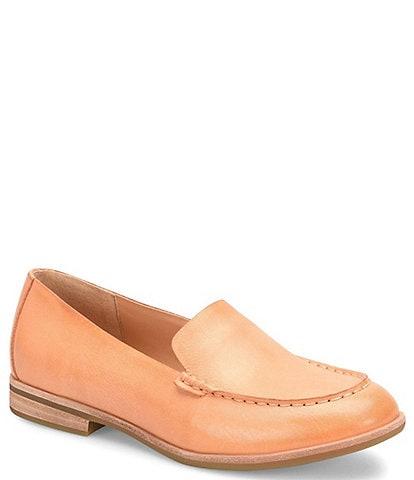 Kork-Ease Meg Leather Flat Loafers