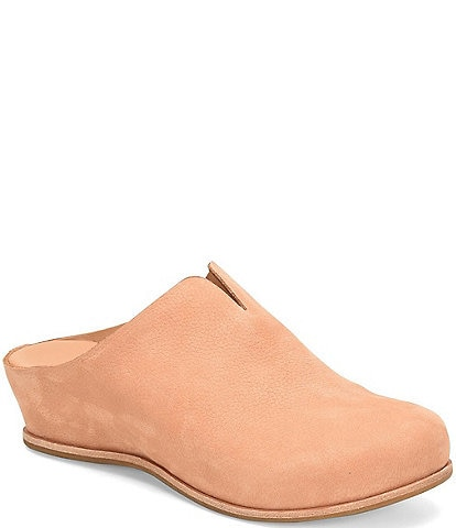 Kork-Ease Para Suede Leather Clogs