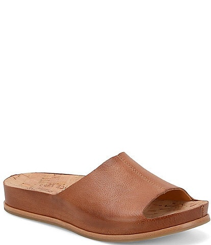 Kork-Ease Tutsi Leather Slides