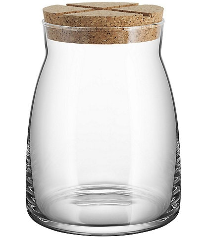 Kosta Boda Bruk Jar With Cork Lid, Large