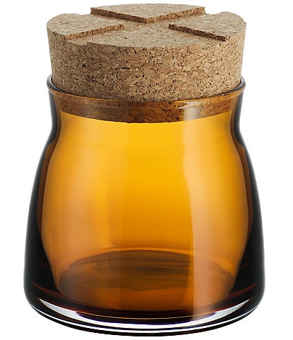 Kosta Boda Bruk Jar With Cork Lid