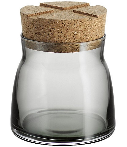 Kosta Boda Bruk Jar With Cork Lid