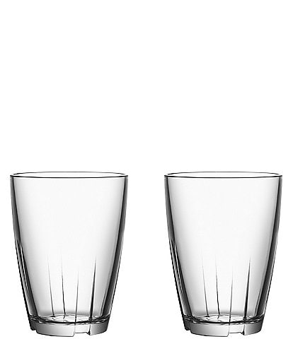 Kosta Boda Bruk Large Tumbler, Set of 2