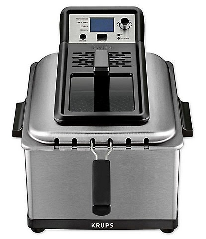 Krups 4.5-Liter Professional Deep Fryer with Preset Options