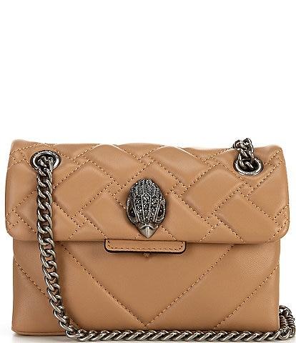 Kurt Geiger London Kensington Mini Quilted Leather Crossbody Bag