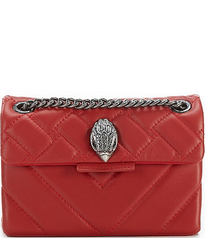 Kurt Geiger Kensington Mini Leather Cross-Body Bag