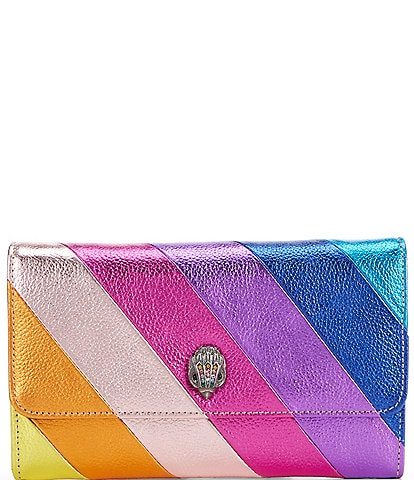 Kurt Geiger London Kensington Rainbow Wallet Crossbody Bag