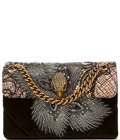 Kurt Geiger London Kensington Mini Lace Crossbody Bag