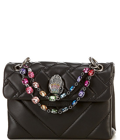 Kurt Geiger London Kensington Rainbow Mini Crossbody Bag