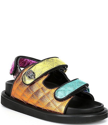 Kurt Geiger London Orson Quilted Leather Sandals