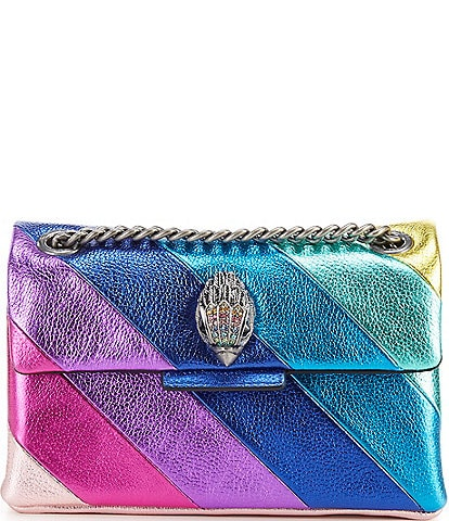 Kurt Geiger Mini Kensington Rainbow Crossbody Bag