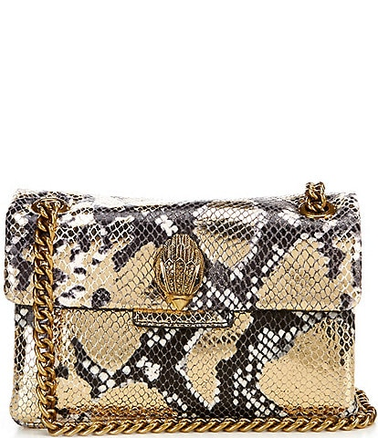 Kurt Geiger Mini Snake Print Crossbody Bag